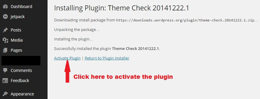 how to install a wordpress plugin