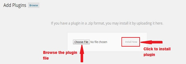 How to upload wordpress plugin file
